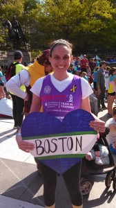 Mary Alice Hewitt in the Nike Women's Half Marathon for the Leukemia and Lymphoma Society.